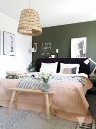 bildergebnis für wandfarbe rosa dunkelgrün schlafzimmer