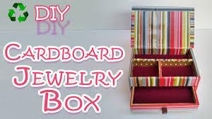 How To Make A Cardboard Jewelry Box