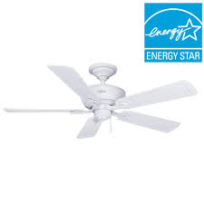Ul Damp Rated Ceiling Fans by Hunter Caicos 52 In Indoor Outdoor New Bronze Wet Rated Ceiling