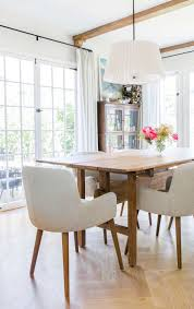 Target Threshold Dining Room Chairs by An Update On My Dining Room Emily Henderson