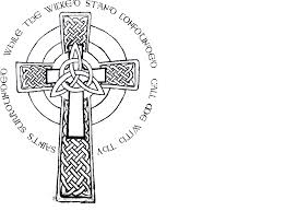 Celtic Cross With Claddagh Tattoo Design In 2018