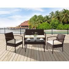 tables de jardin en resine salon de jardin en résine tressée achat vente salon de jardin en