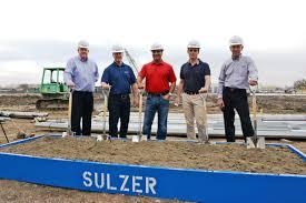 Siemens Dresser Rand Synergies by Sulzer Breaks Ground On New Pump Services Facility Diesel U0026 Gas