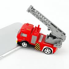 100 Fire Trucks Toys Children RC Toy Cars Light Rechargeable Mini Remote Control Fire Truck