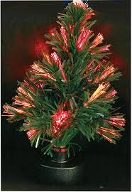 Fibre Optic Christmas Trees Uk by Mini Fibre Optic Christmas Tree Decoration Amazon Co Uk Kitchen