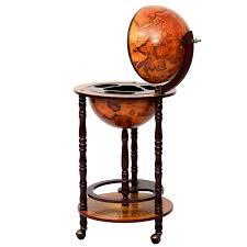 bar stand wood globe wine bar stand 16th century italian rack