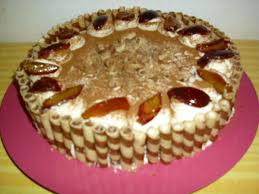 zwetschen waffel torte