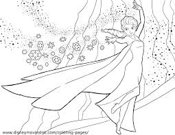 Elsa Coloring Pages New Disney S Frozen Free Printable Color