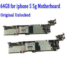 64gb Motherboard for Apple iphone 5 5g Original Unlocked for