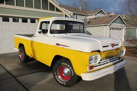 F100 HOTROD V8 PICKUP TRUCK SHORTBED STYLESIDE CLASSIC YELLOW ... Picture Tag White 59 F100 Fast Lane Classics A 1967 Ford Ranger 100 In Nov 2012 Seen In Kingston Ny Richie 1959 Ford Truck Favorites Pinterest 1960s Crew Cab Vehicles And Ideas Ford You Know To Haul The Veggies Market Hort Version 20 Words 2005 Eone 4x4 Quick Attack Wcafs Used Details Baby Blue Chalky For Sale F100 Discussions At Test Drive Sold Sun Valley Auto Club Youtube Little Chef Meet Kilndown Stepside Pickup A Curbside Mercury Trucks We Do Things Bit Differently