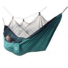 Blue Sky Hammocks Mosquito Net Hammock with Bonus Tree Strap