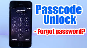 Passcode Unlock Iphone 5 5S 5C 6 6 plus 4s 4 Forgot