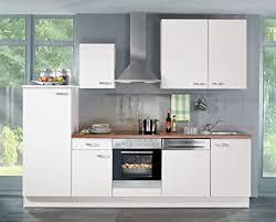 de küchenzeile weiß elin links 280cm breit inkl