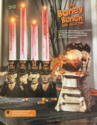 Halloween Flameless Taper Candles by Excerpts From The Yankee Candle 2014 Boney Bunch Halloween Catalog