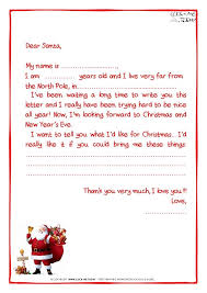 Letter From Santa Claus Template Sample Letter Template