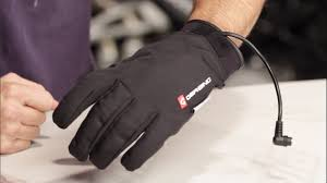 gerbing coreheat12 heated glove liner review at revzilla com youtube