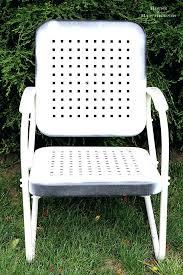 metal lawn furniture vintage amasso