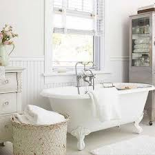 White Shabby Chic Bathroom Ideas by Shabby Chic Bathroom Design Ideas