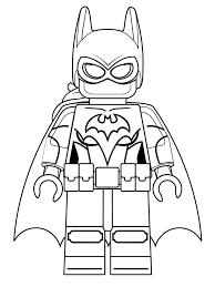 Batman Lego Coloring Pages Kids N Fun 16 Of Movie Free Online