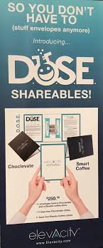 For 250 You Get 33 Shareable Envelopes That Come With Two Day Samples Of DOSE Information On The Products And Instructions Use