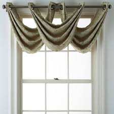 Jc Penney Curtains With Grommets by Jcpenney Home Anza Grommet Top Waterfall Valance Jcpenney