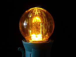 g30 yellow led light bulbs transparent minleon
