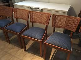 4 esszimmer stühle antik buche wiener geflecht