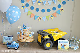 100 Tonka Truck Birthday Party Little Blue The Little Style File
