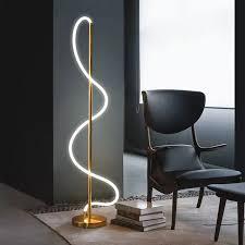 boden le minimalistischen licht luxus moderne kreative linear schlafzimmer wohnzimmer modell zimmer geformt boden le ins led neon licht buy