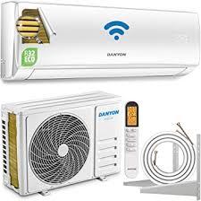 danyon premium klimaanlage splitgerät xa61 für 55 qm 12000 btu 3 4 kw titangold smart home w lan home timer leise nur 50 db