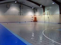 used floors multi courts sports tile