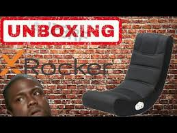 Extreme Sound Rocker Gaming Chair by Unboxing X Rocker Foldable Sound Gaming Chair Youtube