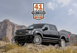 100 Best Selling Truck In America Ford Celebrates 41 Consecutive Years Of Leadership As F150