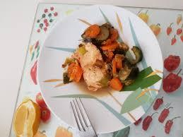 cuisiner pavé saumon pavé saumon aux legumes recettes cookeo