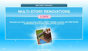 Sims Freeplay Second Floor Stairs by The Sims Freeplay Multi Story Renovations Quest The Who Games
