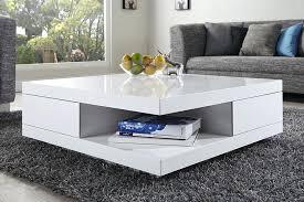 table basse laquac blanc et gris carree marron table basse laque