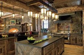 Novel Rustic Style Norwegian Design Kitchens