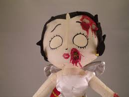 Betty Boop Bath Set by Zombie Betty Boop Cupid Doll