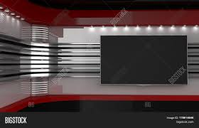 Backdrop For Tv Shows On Wall News Studio The