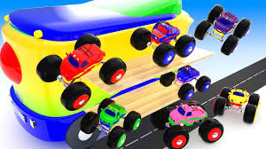 Learn Colors For Kids With Cute Tires Monster Trucks Parking ... Monster Truck Stunt Videos For Kids Trucks Big Mcqueen Children Video Youtube Learn Colors With For Super Tv Omurtlak2 Easy Monster Truck Games Kids Amazoncom Watch Prime Rock Tshirt Boys Menstd Teedep Numbers And Coloring Pages Free Printable Confidential Reliable Download 2432 Videos Archives Cars Bikes Engines