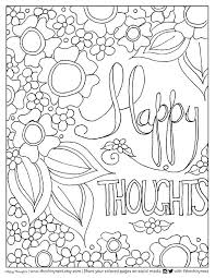 Happy Coloring Pages Adult Video Tutorial With Pencils And Brush Pens For Depression Easter