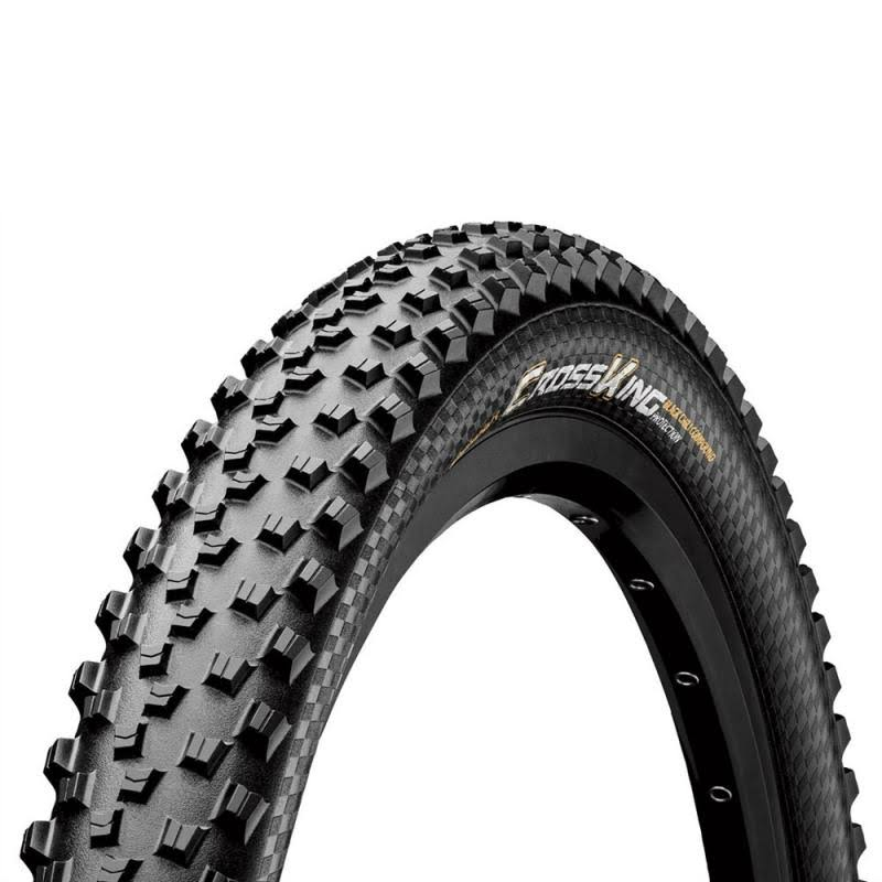 "Continental Cross King Fold Protection Tire - Black, 27.5"" x 2.3"""