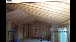 Jack Ceiling Joist Definition by Long Sagging Double Roof Rafters Structural Engineering Problems