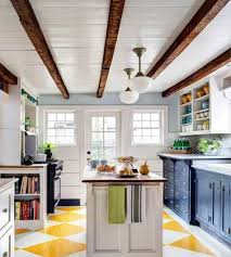 100 Beams On Ceiling Kitchen Exposed In With Vintage Pendant Lighting And