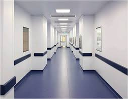 Anti Static Homogeneous Vinyl Sheet Flooring For Hospital