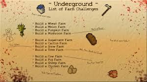 Minecraft Growing Pumpkins by Underground Map For Minecraft File Minecraft Com