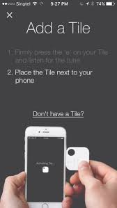 tile 2 by tile inc and iphone 6 by apple compatibility
