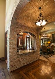Groin Vault Ceiling Images by Brick Barrel Ceiling Kitchen Mediterranean With Dark Floor Groin
