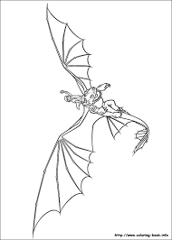 Print Coloring Toothless The Dragon Pages For How To Train Your On