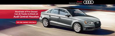Audi Central Houston: Audi Dealership In Houston, TX
